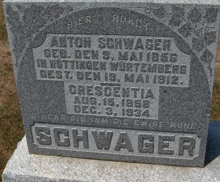 SCHWAGER, CRESCENTIA - Jackson County, Iowa | CRESCENTIA SCHWAGER