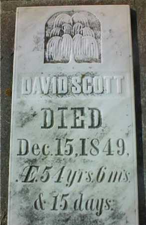 SCOTT, DAVID - Jackson County, Iowa   DAVID SCOTT