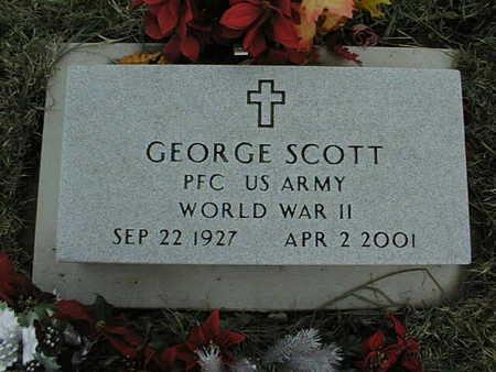 SCOTT, GEORGE - Jackson County, Iowa | GEORGE SCOTT