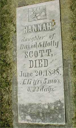 SCOTT, HANNAH - Jackson County, Iowa | HANNAH SCOTT