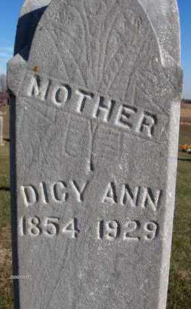 SHADY, DICY ANN - Jackson County, Iowa | DICY ANN SHADY