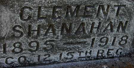 SHANAHAN, CLEMENT - Jackson County, Iowa | CLEMENT SHANAHAN