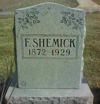 SHEMICK, F. - Jackson County, Iowa | F. SHEMICK