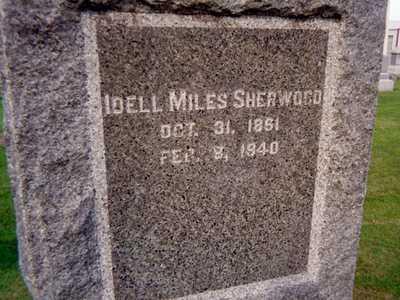 SHERWOOD, IDELL - Jackson County, Iowa | IDELL SHERWOOD