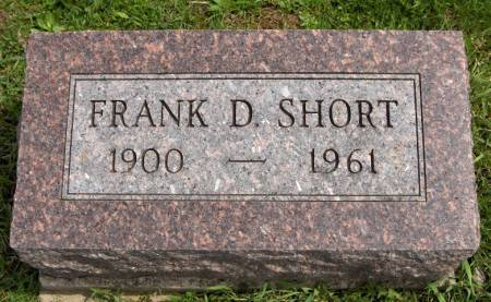 SHORT, FRANK D. - Jackson County, Iowa | FRANK D. SHORT