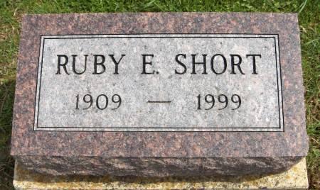 SHORT, RUBY E. - Jackson County, Iowa | RUBY E. SHORT
