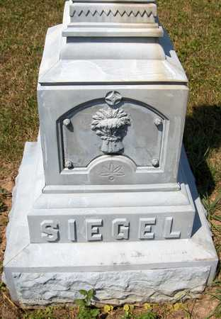 SIEGEL, FAMILY MONUMENT - Jackson County, Iowa | FAMILY MONUMENT SIEGEL