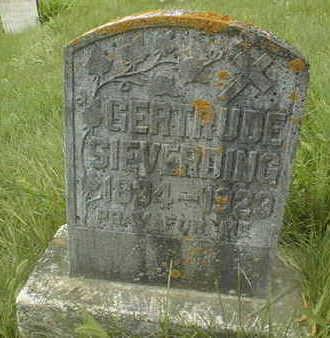 SIEVERDING, GERTRUDE - Jackson County, Iowa | GERTRUDE SIEVERDING