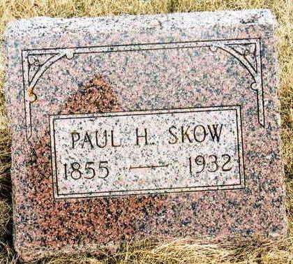 SKOW, PAUL H. - Jackson County, Iowa   PAUL H. SKOW
