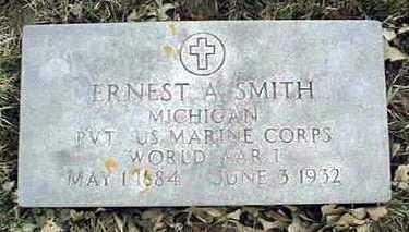 SMITH, ERNEST A. - Jackson County, Iowa   ERNEST A. SMITH
