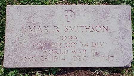 SMITHSON, MAX R. - Jackson County, Iowa | MAX R. SMITHSON