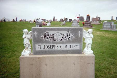 ST. JOSEPH'S, CEMETERY - Jackson County, Iowa | CEMETERY ST. JOSEPH'S