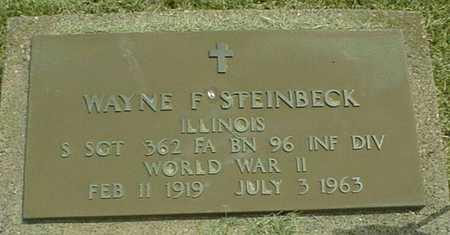 STEINBECK, WAYNE F. - Jackson County, Iowa | WAYNE F. STEINBECK