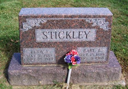 STICKLEY, ELTA I. - Jackson County, Iowa   ELTA I. STICKLEY