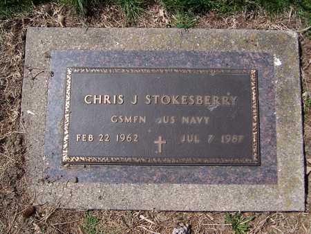 STOKESBERRY, CHRIS J. - Jackson County, Iowa   CHRIS J. STOKESBERRY