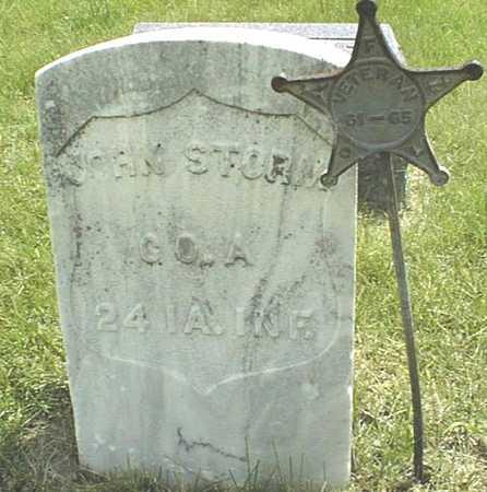 STORM, JOHN - Jackson County, Iowa | JOHN STORM