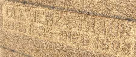 STRAUB, CLEMENZ - Jackson County, Iowa   CLEMENZ STRAUB