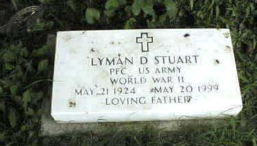 STUART, LYMAN D. - Jackson County, Iowa   LYMAN D. STUART