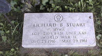 STUART, RICHARD B. - Jackson County, Iowa | RICHARD B. STUART