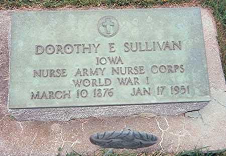 SULLIVAN, DOROTHY E. - Jackson County, Iowa | DOROTHY E. SULLIVAN