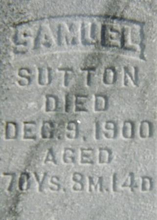 SUTTON, SAMUEL - Jackson County, Iowa | SAMUEL SUTTON