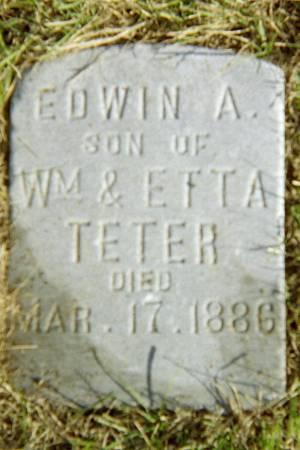TETER, EDWIN A. - Jackson County, Iowa | EDWIN A. TETER