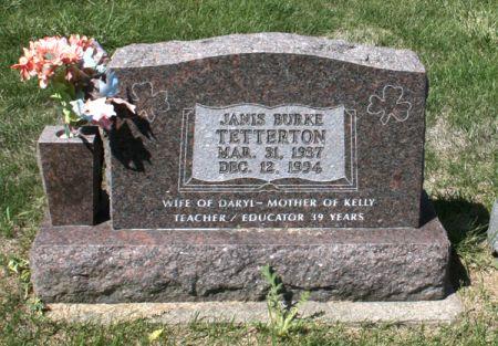 BURKE TETTERTON, JANIS - Jackson County, Iowa | JANIS BURKE TETTERTON
