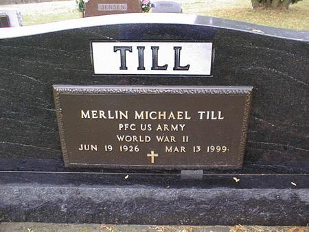 TILL, MERLIN MICHAEL - Jackson County, Iowa | MERLIN MICHAEL TILL