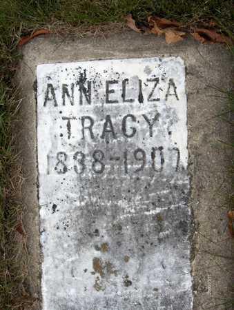 TRACY, ANN ELIZA - Jackson County, Iowa | ANN ELIZA TRACY