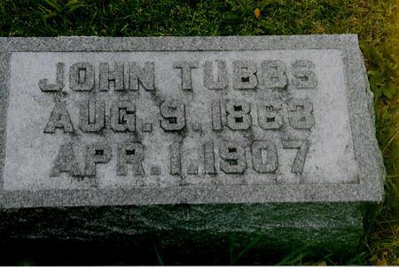 TUBBS, JOHN - Jackson County, Iowa | JOHN TUBBS