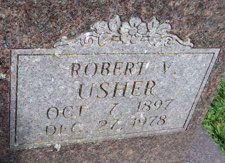 USHER, ROBERT V. - Jackson County, Iowa   ROBERT V. USHER