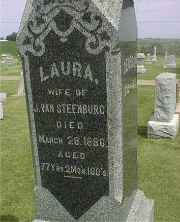 VAN STEENBURG, LAURA - Jackson County, Iowa | LAURA VAN STEENBURG