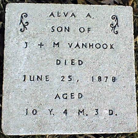 VANHOOK, ALVA A. - Jackson County, Iowa | ALVA A. VANHOOK