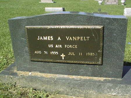 VANPELT, JAMES A. - Jackson County, Iowa   JAMES A. VANPELT