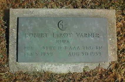 VARNER, ROBERT LEROY - Jackson County, Iowa | ROBERT LEROY VARNER