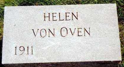 VON OVEN, HELEN - Jackson County, Iowa   HELEN VON OVEN