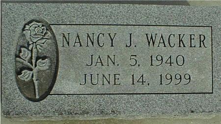 WACKER, NANCY J. - Jackson County, Iowa | NANCY J. WACKER