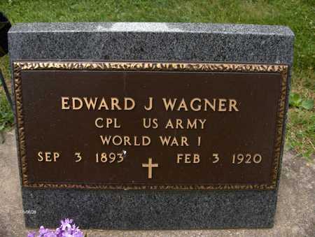 WAGNER, EDWARD J. - Jackson County, Iowa | EDWARD J. WAGNER