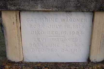 WAGONER, CATHARINE - Jackson County, Iowa | CATHARINE WAGONER