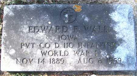 WALL, EDWARD F. - Jackson County, Iowa | EDWARD F. WALL