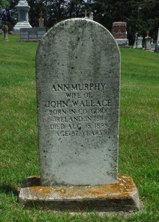 MURPHY WALLACE, ANN - Jackson County, Iowa | ANN MURPHY WALLACE