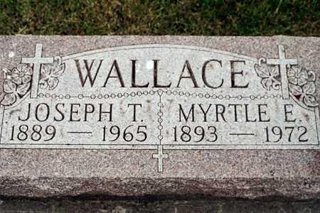 WALLACE, JOSEPH T. - Jackson County, Iowa | JOSEPH T. WALLACE