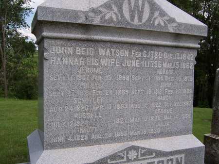 WATSON, JULIA - Jackson County, Iowa | JULIA WATSON
