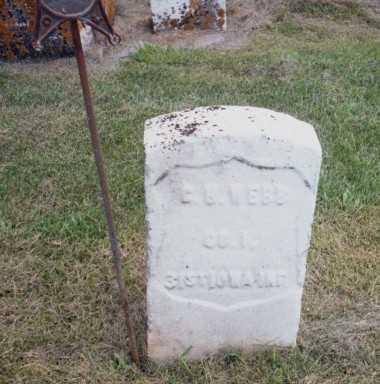 WEBB, G.H. - Jackson County, Iowa | G.H. WEBB