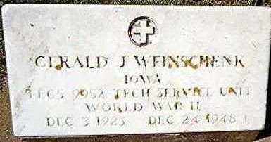 WEINSCHENK, GERALD J. - Jackson County, Iowa | GERALD J. WEINSCHENK