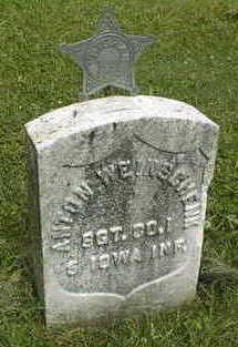 WEINSCHENK, SGT. ANTON - Jackson County, Iowa | SGT. ANTON WEINSCHENK