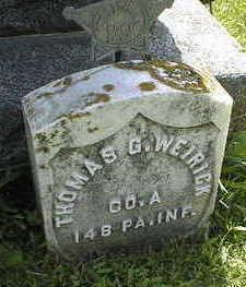 WEIRICK, THOMAS GEORGE - Jackson County, Iowa | THOMAS GEORGE WEIRICK