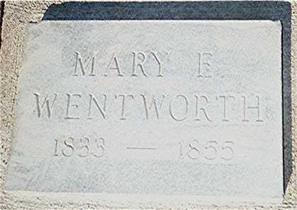 WENTWORTH, MARY - Jackson County, Iowa | MARY WENTWORTH