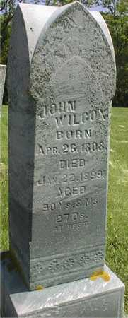 WILCOX, JOHN - Jackson County, Iowa   JOHN WILCOX