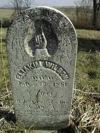 WILSON, ELIAKIM - Jackson County, Iowa | ELIAKIM WILSON